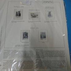 Sellos: SUPLEMENTO TORRES 2003 2004 MONTADO / (ALGUNOS FILOESTUCHES SON MÁS GRANDE DEL RECUADRO)2 MAN. Lote 294076963