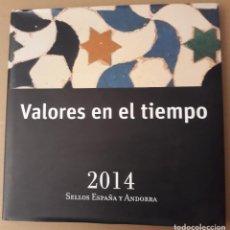 Sellos: LIBRO OFICIAL DE CORREOS 2014. SIN SELLOS. SIN ANDORRA.. Lote 297099643