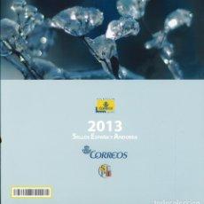 Sellos: LIBRO OFICIAL DE CORREOS 2013 SIN SELLOS. Lote 297155358