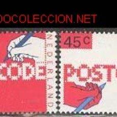 Sellos: HOLANDA 1978. CÓDIGOS POSTALES. Lote 870449