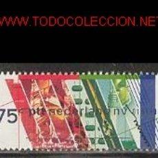 Sellos: HOLANDA 1989. CIENCIA Y TECNOLOGÍA. Lote 870860