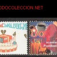 Sellos: HOLANDA 1997. CUMPLEAÑOS. Lote 871236