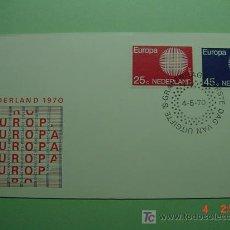 Sellos: 1938 HOLANDA NEDERLAND 1970 TEMA EUROPA SOBRE DIA EMISION SPD FDC MAS EN MI TIENDA COSAS&CURIOSAS. Lote 4498903