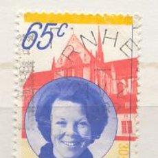 Sellos: HOLANDA 1981. CORONACIÓN DE LA REINA BEATRIZ 65 CÉNTIMOS. Lote 8070050
