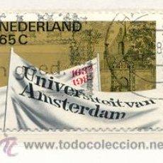 Sellos: HOLANDA 1982. UNIVERSIDAD DE AMSTERDAM. Lote 8070113