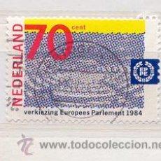 Sellos: HOLANDA 1984. ELECCIONES EUROPEAS. Lote 8070180