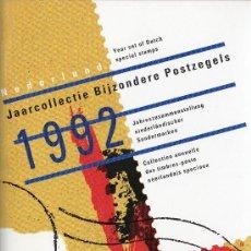 Sellos: PAISES BAJOS HOLANDA AÑO 1992 COMPLETO NUEVO*** EN CARPETA OFICIAL (VER FOTOS). Lote 26713084