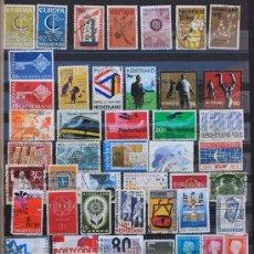 Sellos: HOLANDA HOLLAND NETHERLANDS NEDERLAND PAYS-BAS 50 SELLOS USADOS HO-03. Lote 11136654