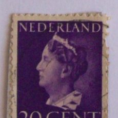 Sellos: 20 CENT - SELLO HOLANDA - NEDERLAND. Lote 16102681