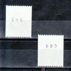 Sellos: HOLANDA 1168A, 1170A CON NUMERO SIN CHARNELA, MONARQUIA, REINA BEATRIZ . Lote 19601852