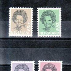 Sellos: HOLANDA 1167/70 SIN CHARNELA, MONARQUIA, REINA BEATRIZ . Lote 19601889