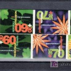 Sellos: HOLANDA 1400A CARNET SIN CHARNELA, FLORIADE 92, EXPOSICION HORTICOLA, . Lote 19849903
