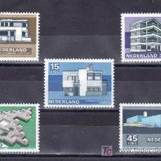 Sellos: HOLANDA 888/92 SIN CHARNELA, ARQUITECTURA, . Lote 19772415