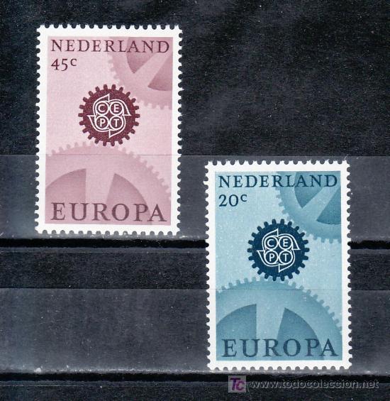 HOLANDA 850A/1A SIN CHARNELA, TEMA EUROPA (Sellos - Extranjero - Europa - Holanda)