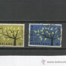 Sellos: LOTE. SELLOS. HOLANDA. TEMA EUROPA. AÑO 1962. . Lote 21304827