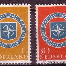 Sellos: HOLANDA 701/02* - AÑO 1959 - 10º ANIVERSARIO DE LA OTAN. Lote 21951238