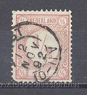 HOLANDA- 1876-1892-CIFRAS, USADO (Sellos - Extranjero - Europa - Holanda)