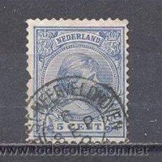 Sellos: HOLANDA- 1891-1894-PRINCESA WHILELMINA, USADO. Lote 22668172