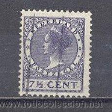 Sellos: HOLANDA- 1924-REINA WILHELMINA, USADO. Lote 22669098