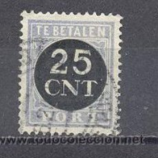Sellos: HOLANDA-1923-TASAS- YVERT TELLIER 72. Lote 24665277