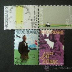 Sellos: HOLANDA 1971 IVERT 934/7 *** 60º ANIVERSARIO DEL PRINCIPE BERNHARD - CASA REAL. Lote 25243548