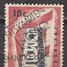 Sellos: HOLANDA IVERT 659, EUROPA 1956, USADO. Lote 27934466