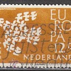 Sellos: HOLANDA IVERT 738, EUROPA 1961, USADO. Lote 27934657