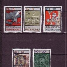 Sellos: HOLANDA 832/36*** - AÑO 1966 - PRO OBRAS DE BENEFICENCIA - ANIVERSARIOS. Lote 29014951