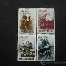 Sellos: HOLANDA 1974 IVERT 1010/3 *** FOTOGRAFIAS ANTIGUAS . Lote 29551579