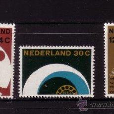 Sellos: HOLANDA 752/54*** - AÑO 1962 - AUTOMATIZACION DE LA RED TELEFONICA. Lote 29983558