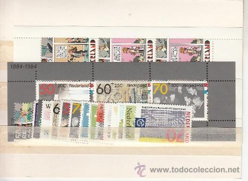 HOLANDA 1215/32, HB26/7 SIN CHARNELA, AÑO 1984 VALOR CAT 32.80 EUROS + (Sellos - Extranjero - Europa - Holanda)