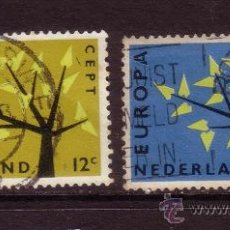Sellos: HOLANDA 758/59 - AÑO 1962 - EUROPA. Lote 33440664