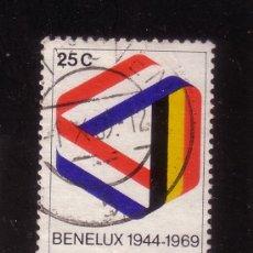Sellos: HOLANDA 895 - AÑO 1969 - 25º ANIVERSARIO DEL BENELUX. Lote 33440697