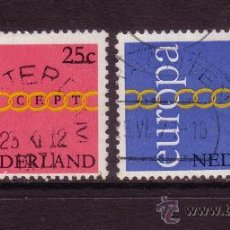 Sellos: HOLANDA 932/33 - AÑO 1971 - EUROPA. Lote 33440721