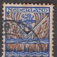 Sellos: HOLANDA IVERT Nº 198 (AÑO 1927), ESCUDO DE OVERIJSSEL (PRO OBRAS DE LA INFANCIA), USADO. Lote 35818065