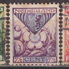 Sellos: HOLANDA IVERT Nº 162/4 (AÑO 1925), ESCUDOS DE PROVINCIAS (PRO OBRAS DE LA INFANCIA), USADO. Lote 35818122