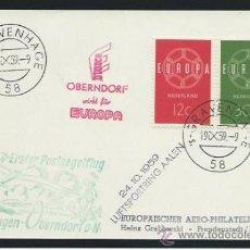 Sellos: 1959. HOLANDA A ALEMANIA. CARTA CON SELLOS DE HOLANDA. Lote 36142195