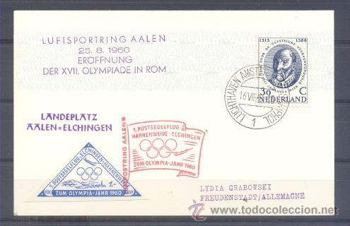 1960.- HOLANDA A ALEMANIA (Sellos - Extranjero - Europa - Holanda)