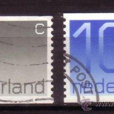 Sellos: HOLANDA 1041C/42C - AÑO 1976 - CENTENARIO DEL SELLO HOLANDÉS. Lote 36177794