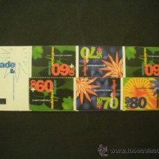 Sellos: HOLANDA 1992 IVERT 1400A/2A *** SELLOS DE VERANO - EXPOSICIÓN HORTICOLA - FLORIADE-92 - FLORA . Lote 37887955