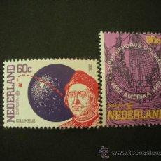 Sellos: HOLANDA 1992 IVERT 1406/7 *** EUROPA - 500º ANIVERSARIO DEL DESCUBRIMIENTO DE AMÉRICA. Lote 37888112