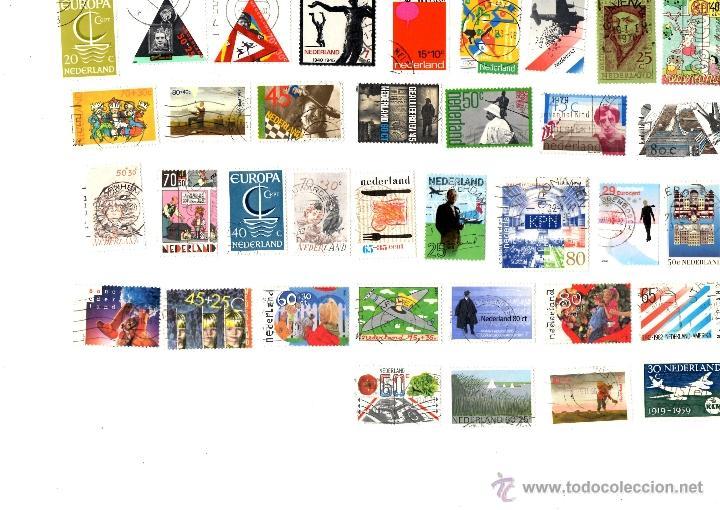 35 SELLOS USADOS HOLANDA (Sellos - Extranjero - Europa - Holanda)