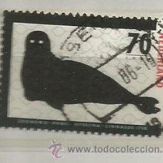 Timbres: HOLANDA 1985.ANIMALES EN PELIGRO DE EXTINCIÓN, FOCA. Lote 40828956