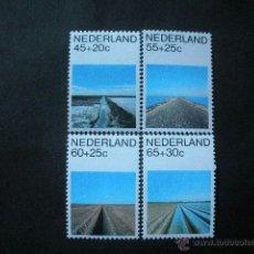 Sellos: HOLANDA 1981 IVERT 1146/9 *** PAISAJES - TURISMO. Lote 41408305