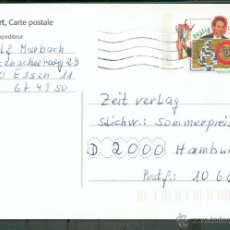 Sellos: HOLANDA .- ENTERO POSTAL DE 1992. Lote 44905202