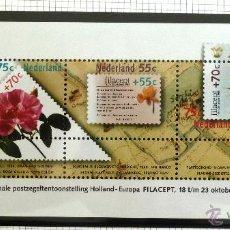 Sellos: HB HOLANDA 1988. EXPOSICION FILATELICA INTERNACIONAL FILACEPT 88. FLORA. NUEVA. Lote 45759945