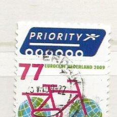 Sellos: 2009 HOLANDA, PROTECCIÓN NATURALEZA. Lote 217549926