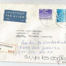 Sellos: CORREO AÉREO DE SOESHBERG A BOGOTA. Lote 49232330