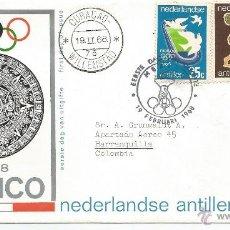 Sellos: 1968 - JUEGOS OLIMPICOS MEXICO 1968 - ANTILLA HOLANDESA. Lote 50144693