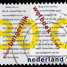Sellos: HOLANDA 1992- YV 1392. Lote 51410889